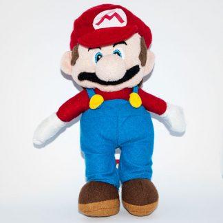 Nintendo Super Maro plüss figura szemből