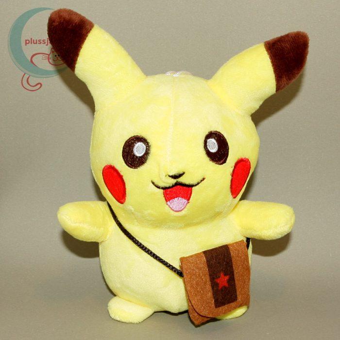 Pikachu kis táskával plüss (20 cm)