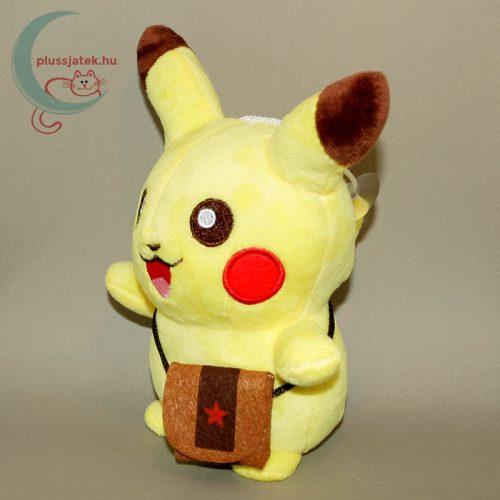 Pikachu kis táskával plüss (20 cm) balról