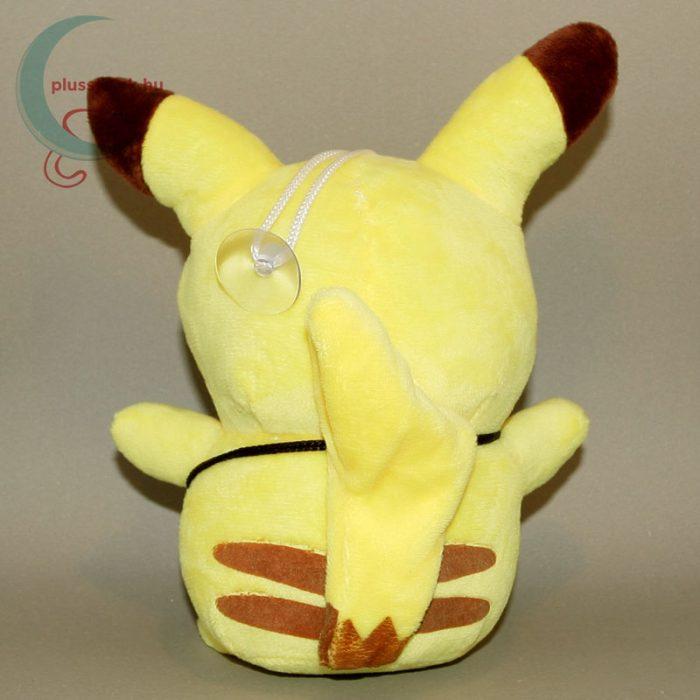 Pikachu kis táskával plüss (20 cm) hátulról
