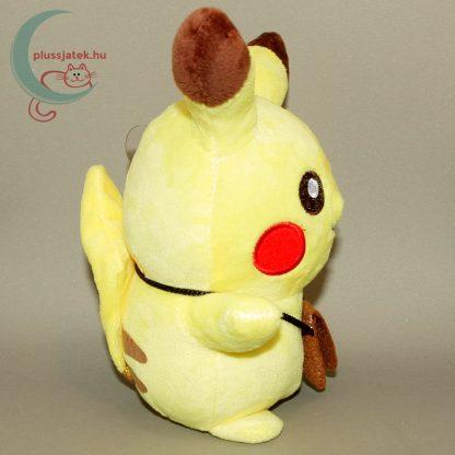 Pikachu kis táskával plüss (20 cm) jobb oldalról