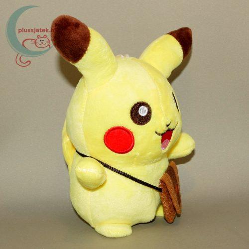 Pikachu kis táskával plüss (20 cm) jobbról