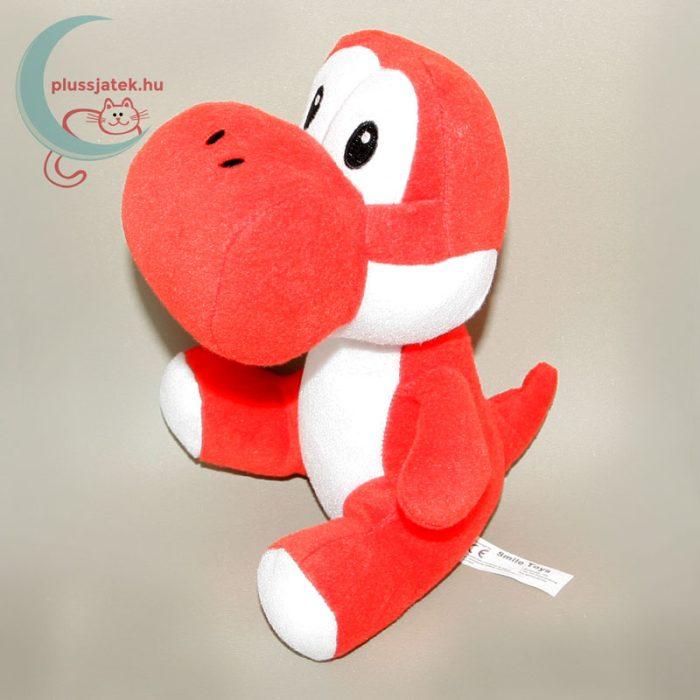 Piros Yoshi plüss (Super Mario Bros) balról