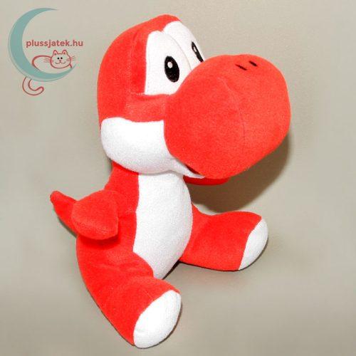 Piros Yoshi plüss (Super Mario Bros) jobbról