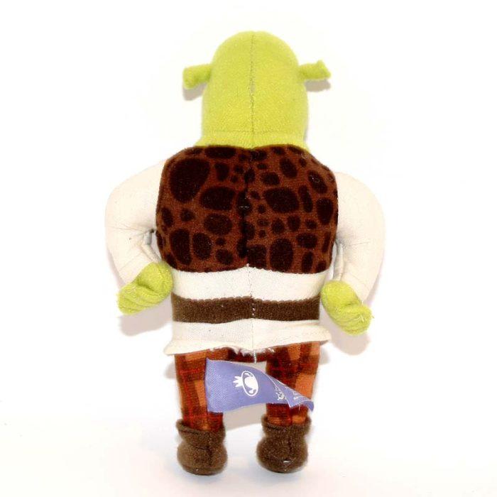 Olcsó Shrek plüssjáték hátulról