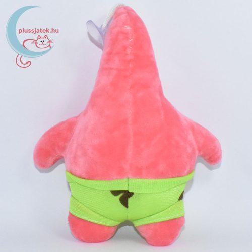 Spongyabob Csillag Patrik plüss hátulról