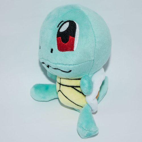 Squirtle Pokémon plüssjáték jobbról