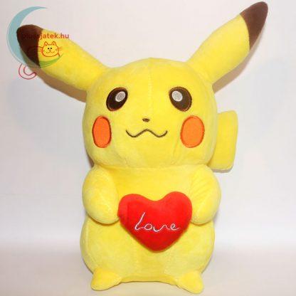 Szerelmes 32 cm-es Pikachu Pokémon plüss