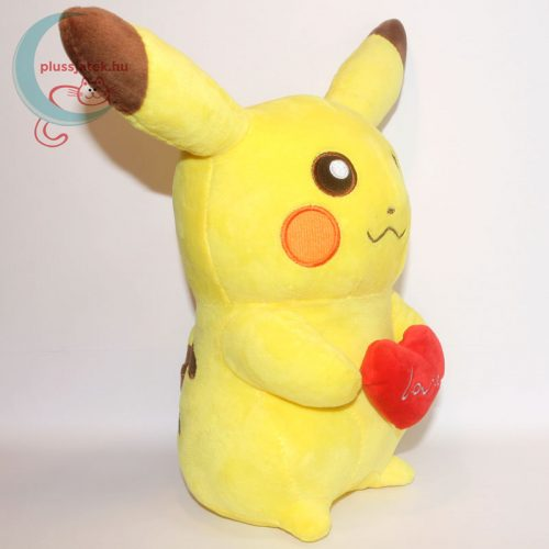 Szerelmes 32 cm-es Pikachu Pokémon plüss jobbról