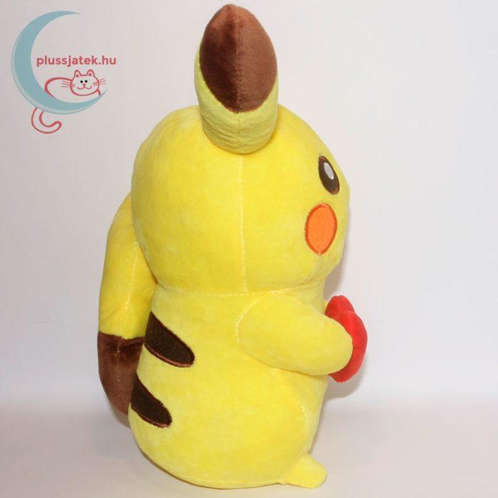 Szerelmes 32 cm-es Pikachu Pokémon plüss oldalról