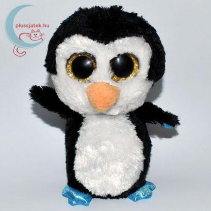 TY nagyszemű fekete plüss pingvin