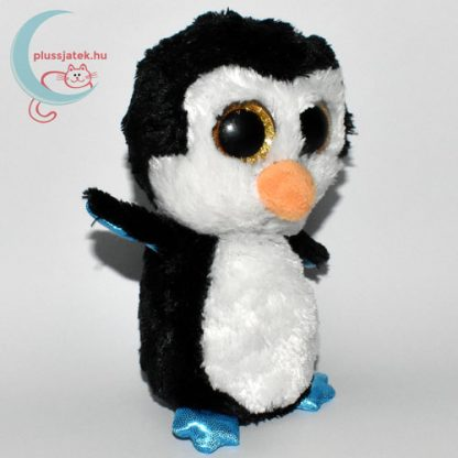 TY nagyszemű fekete plüss pingvin jobbról