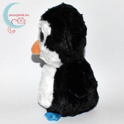 TY nagyszemű fekete plüss pingvin oldalról