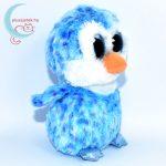 TY nagyszemű kék pingvin jobbról