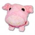 Big Headz Pig Malac plüssfigura elölről