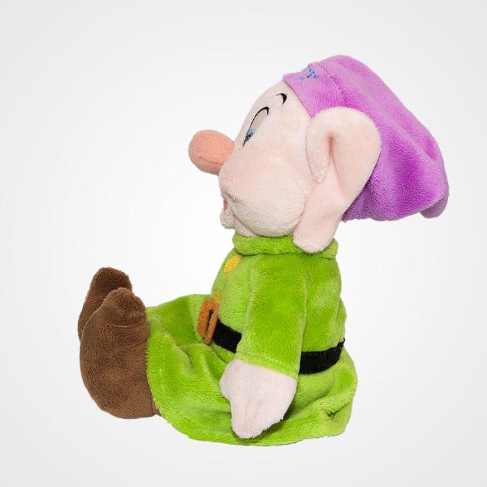 Dopey (Kuka) feliratos törpe a Hófehérkéből oldalról
