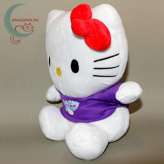 Hatalmas (26 cm) Hello Kitty plüss cica balról