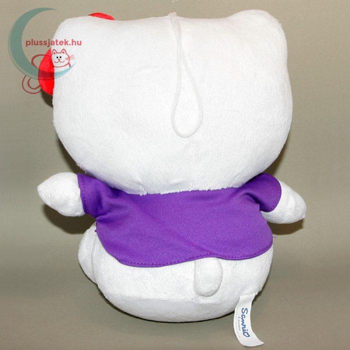 Hatalmas (26 cm) Hello Kitty plüss cica hátulról