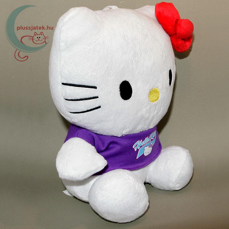 ... Hatalmas (26 cm) Hello Kitty plüss cica jobbról ... 0d1fc4dc15