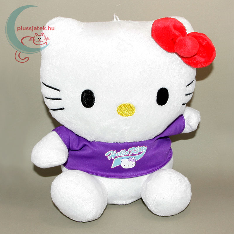 Hatalmas (26 cm) Hello Kitty plüss cica ... e753521a18
