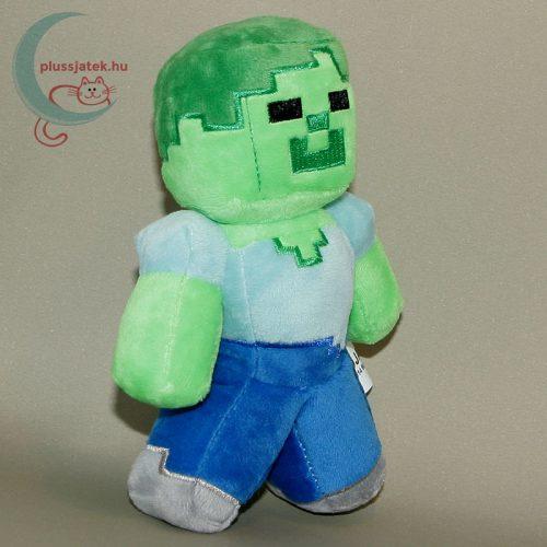Minecraft zombi plüss figura jobbról
