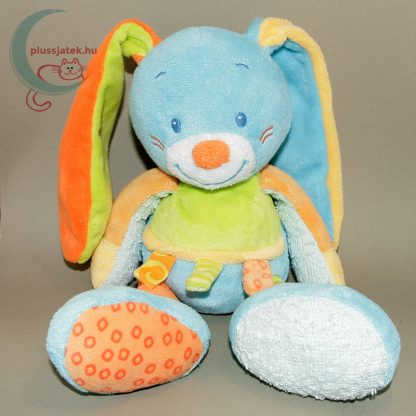 Nattou színes zörgő fülű plüss nyuszi babáknak