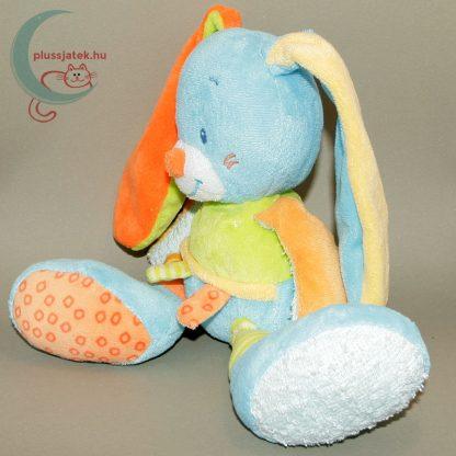Nattou színes zörgő fülű plüss nyuszi babáknak balról