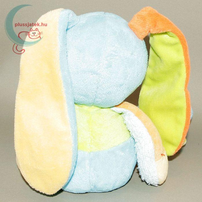 Nattou színes zörgő fülű plüss nyuszi babáknak hátulról
