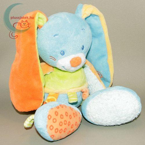 Nattou színes zörgő fülű plüss nyuszi babáknak jobbról