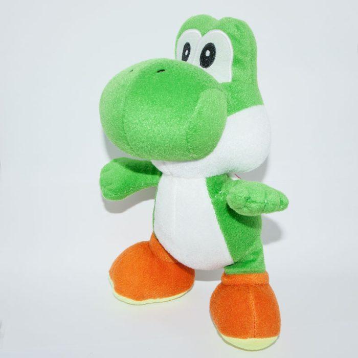 Nintendo Yoshi Super Mario Bros plüss szemből balról