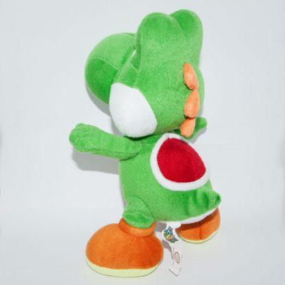 Nintendo Yoshi Super Mario Bros plüss szemből hátulról