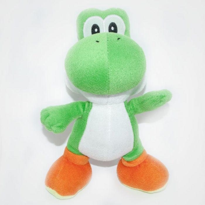 Nintendo Yoshi Super Mario Bros plüss szemből
