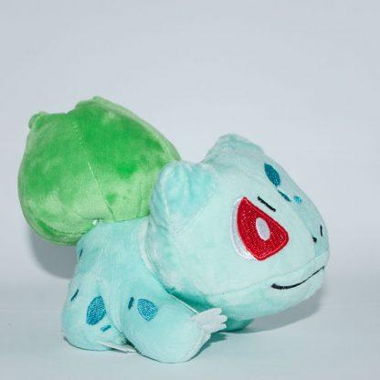 Pokemon Bulbasaur plüssfigura oldalról