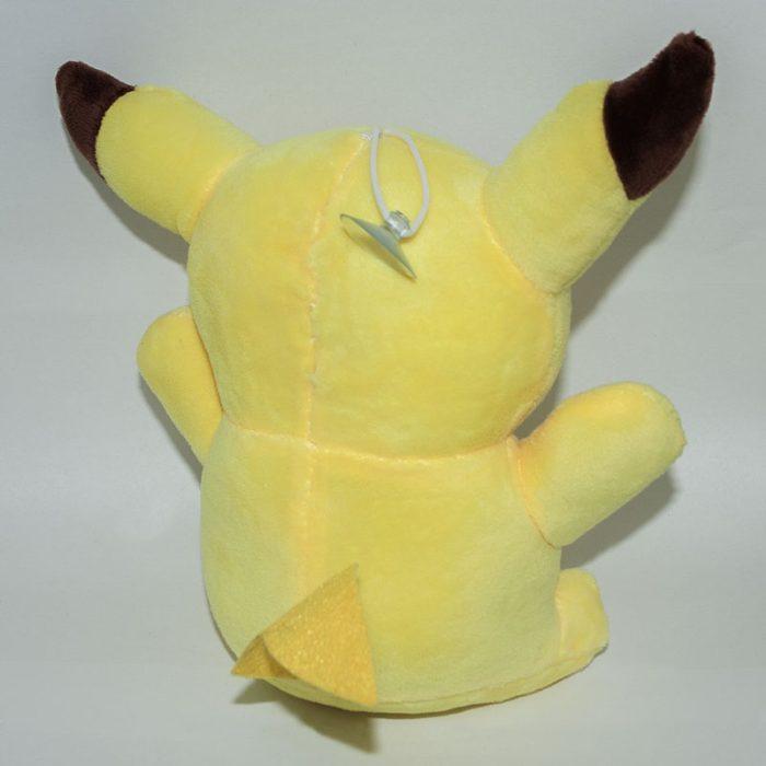 Pikachu plüss játék nyitott szájjal háttal