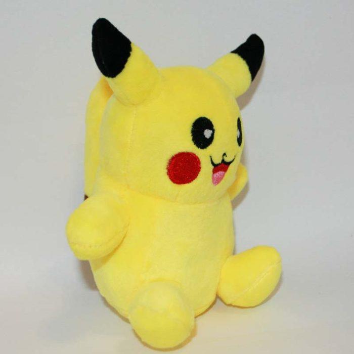 Pikachu pokémon plüss jobbról