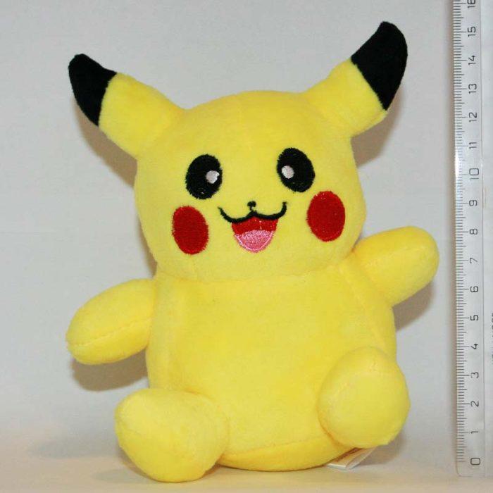 15 cm Pikachu Pokémon plüss mérete