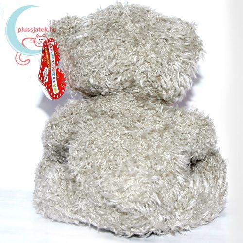 Szerelmes sebtapaszos plüss maci medve hátulról