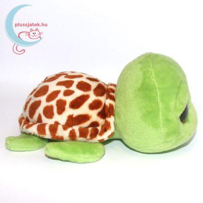 TY nagyszemű plüss teknős jobb oldalról