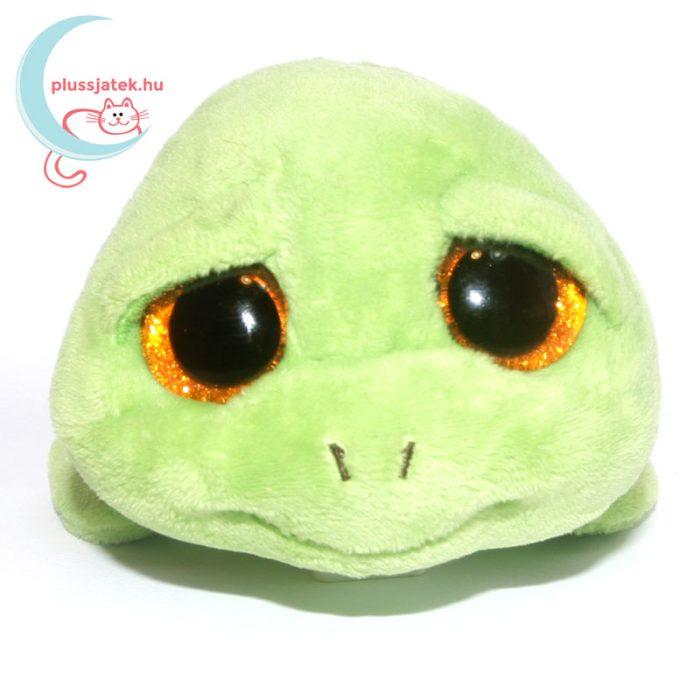 TY nagyszemű plüss teknős szemből - így mosolyog