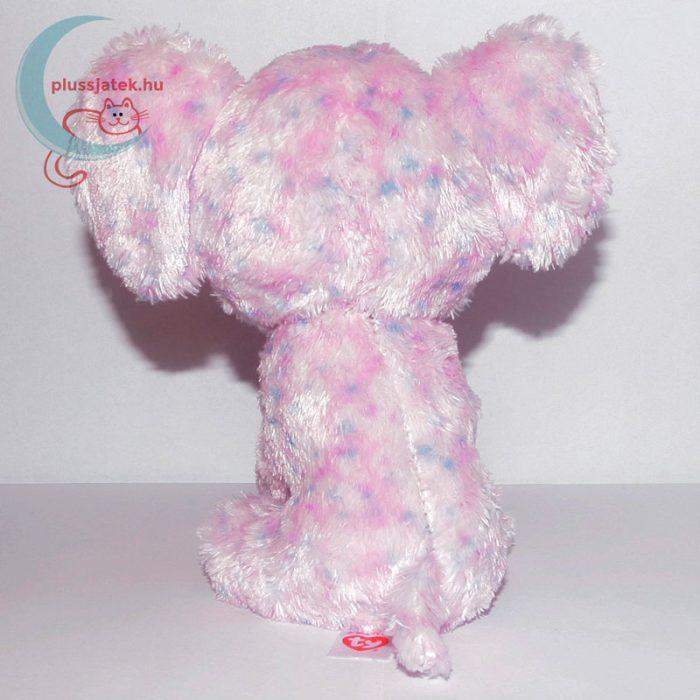 TY nagyszemű rózsaszín plüss elefánt hátulról